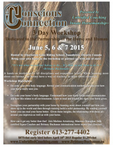 Conscious Connection Workshop Poster