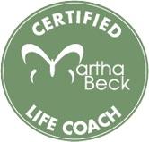 Martha Beck Certifcate